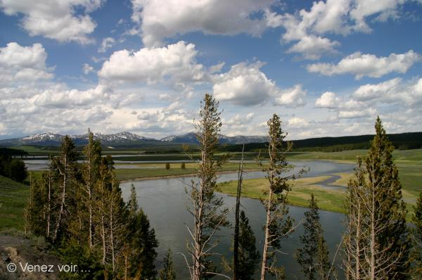 Yellowstone, Continental divide